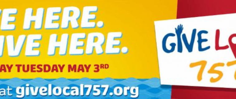 Be a part of the largest fundraising event in Hampton Roads, Give Local 757!