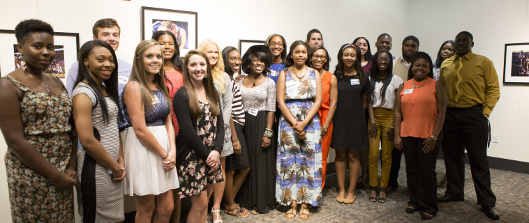 Dozens of Students Honored at Scholarship Reception